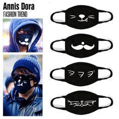 details  unisex cute fashion mask cold mask anti dust