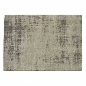 Tapis D Extérieur Maison Du Monde : tapis en coton gris 200 x 290 cm feel maisons du monde ~ Dailycaller-alerts.com Idées de Décoration