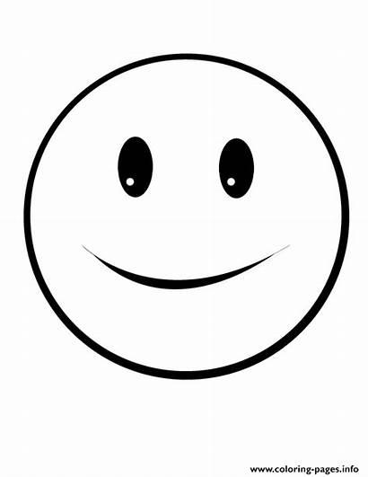 Emoji Smile Coloring Targets Pages Printable Shooting