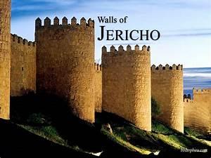 Diagram Of Jericho Walls