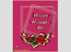 Frauentag Bilder Grüsse animiert Facebook BilderGB