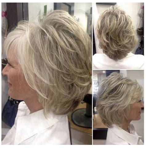 2020 Short Layered Haircuts for Women Over 50 Younger