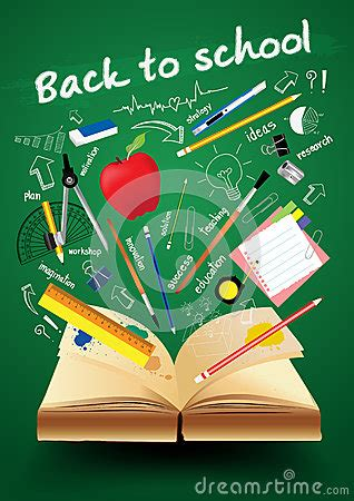 School Book Cover Design Templates