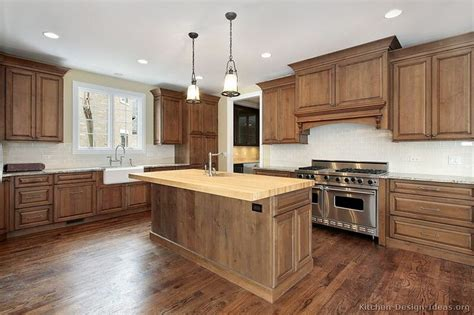 kitchen design and layout traditional medium wood brown kitchen cabinets 13 4390