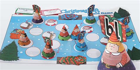 Phase 4 Blends Christmas Board Game  Games, Activities