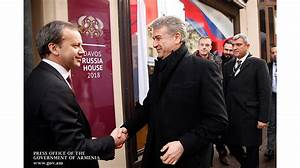 PM Karapetyan meets with Russian deputy FM in Davos ...