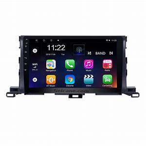 10 1 Inch 2015 Toyota Highlander Android 8 1 Gps