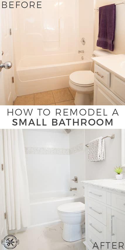 diy small bathroom remodel fixthisbuildthat
