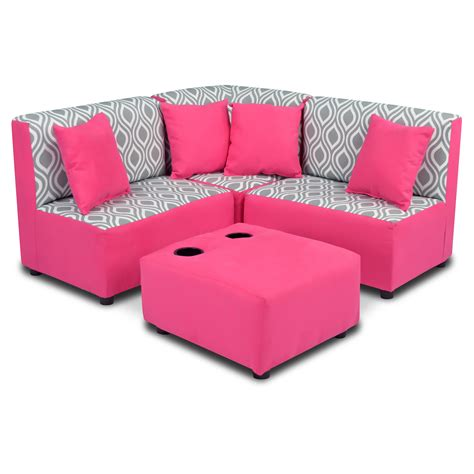 Toddler Loveseat by Zippity Sectional Sofa Set Twill