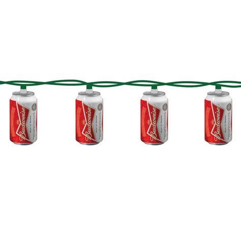 budweiser string lights