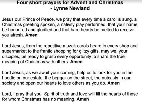cloaing prayer for christmas progeamme at umc
