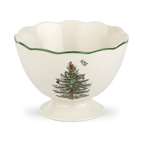 spode christmas tree sculpted footed bowl 11 99 you save