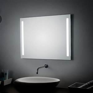 Badspiegel 80 X 80 : koh i noor spiegel 80 x 60 cm mit seitlichen led streifen megabad ~ Bigdaddyawards.com Haus und Dekorationen