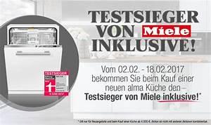 Alma Küchen Essen : alma k chen aktion testsieger von miele inklusive ~ Eleganceandgraceweddings.com Haus und Dekorationen