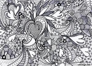 Puzzle Gratuit En Ligne Pour Adulte : coloriage saint valentin coeur adulte difficile dessin ~ Dailycaller-alerts.com Idées de Décoration