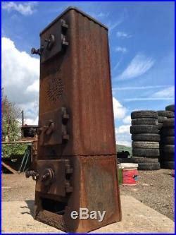 jotul  classic cast iron multi fuel burning project