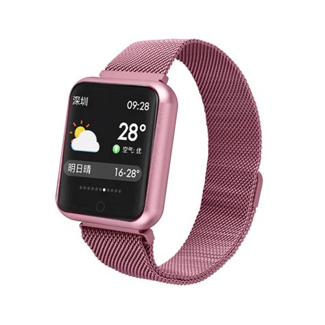 Sports IP68 Smart Watch P68 fitness bracelet activity