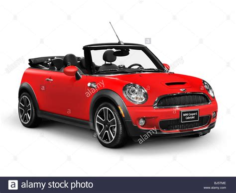 Mini Cooper Convertible Backgrounds by 2010 Mini Cooper S Convertible Car Isolated On White