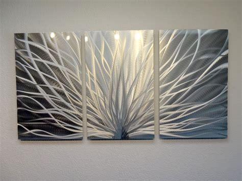 abstract metal wall art contemporary modern decor