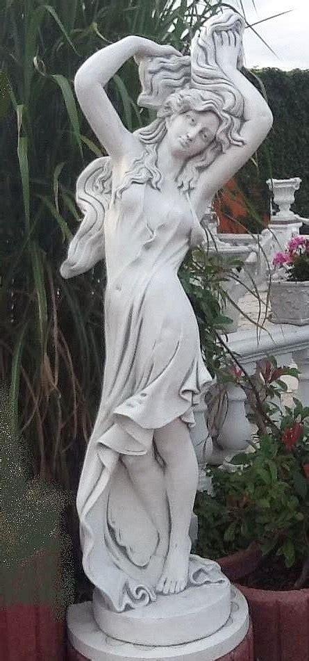 gartendekoration frauen gartendeko figur frau mit wildem haar moderne erotische