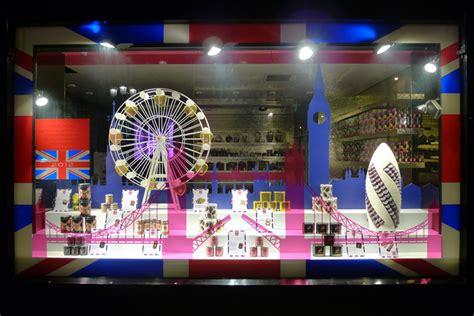 fauchon london olympics windows paris