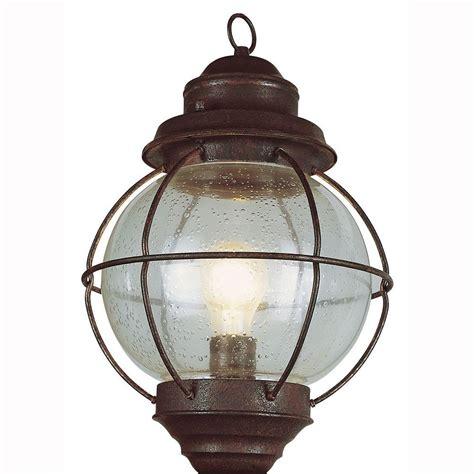rustic outdoor lighting bel air lighting lighthouse 1 light outdoor rustic bronze