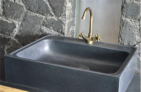 entretien evier granit noir 70 x 60cm 201 vier de cuisine en granit noir v 233 ritable lagos shadow