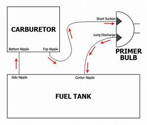 I Need The Diagram For The Fuel Line For A Weed Eater