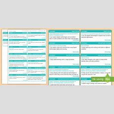 * New * Cfe Early Level Technologies Experiences And Outcomes Stickers