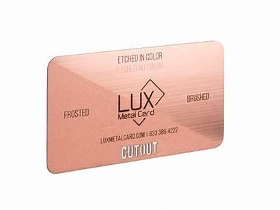 Rose Metal Cards Card Starting Ea Luxury
