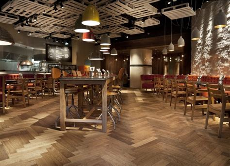 Kahrs Floors by Gbk Burger Restaurant Bluewater Havwoods