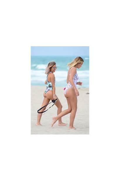 Caroline Receveur Swimsuit Beach Miami Bikini Gotceleb