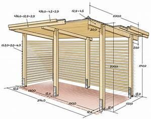 Bauplan Gartenhaus Pultdach : brennholzunterstand bauplan garten allgemein bauen und wohnen in der schweiz ~ Orissabook.com Haus und Dekorationen