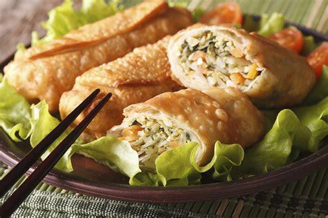 shrimp crab egg rolls tulkoff food products