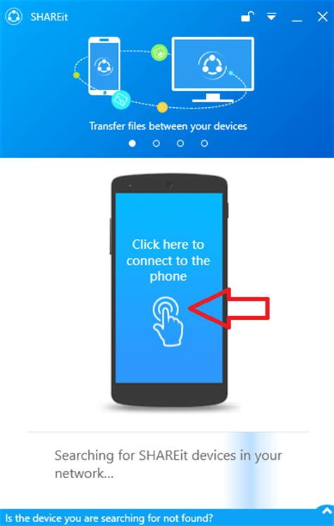 How To Use Mobile by How To Use Shareit On Pc To Transfer Files To From Mobile