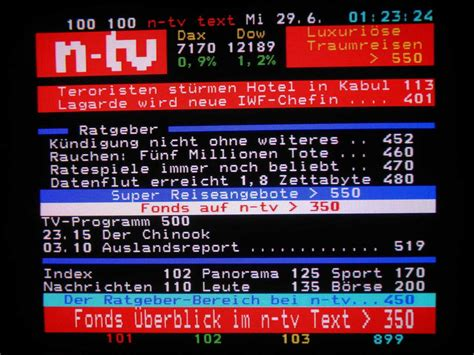 Teletext in Germany - Part II - Cambus.net