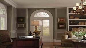 Dining room chair rail ideas, colonial style homes
