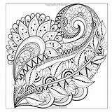 Quilt Pattern Coloring Pages Patterns Abstract Getcolorings Printable Getdrawings sketch template