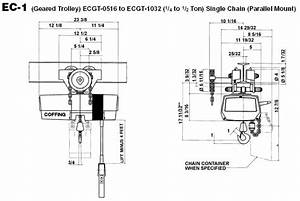 5 Ton Electric Chain Hoist  Diagrams  Wiring Diagram Images