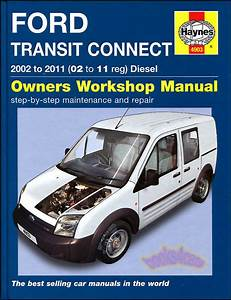 Transit Connect Shop Manual Service Repair Ford Book 2010 2011 Haynes Chilton 02