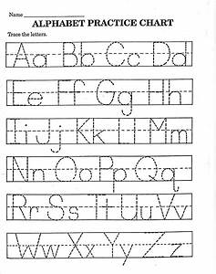 trace letter worksheets free activity shelter With traceable letters for pre k
