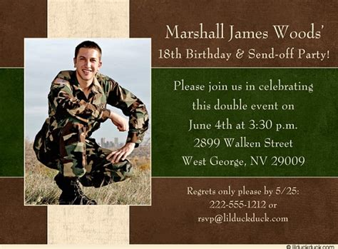 army birthday invitations  man  printable