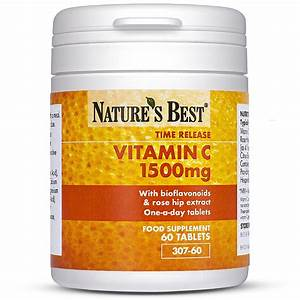 Vitamin C Tablets 1 500mg