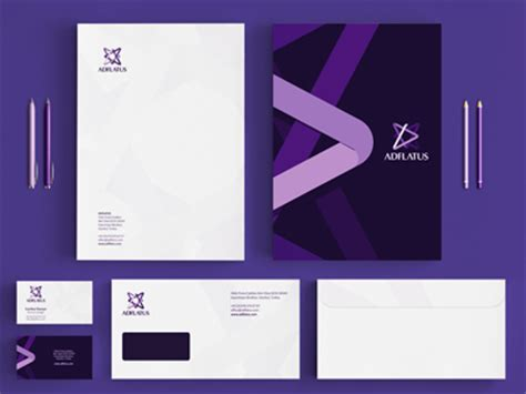 30+ Creative Examples of Stationery Designs -Design Bump