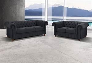 Polstergarnituren 3 2 1 Sitzer : couchgarnitur kaufen bequeme polstergarnituren otto ~ Indierocktalk.com Haus und Dekorationen