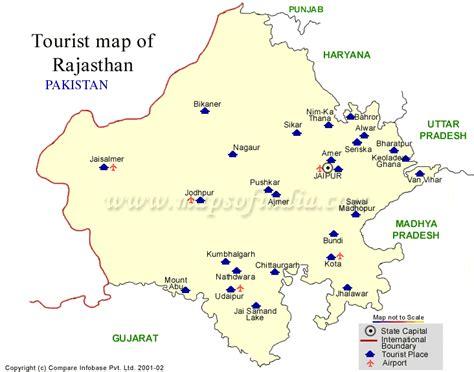 map  rajasthan