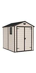 keter manor shed 6x8 keter manor outdoor plastic garden storage shed 4 x 3