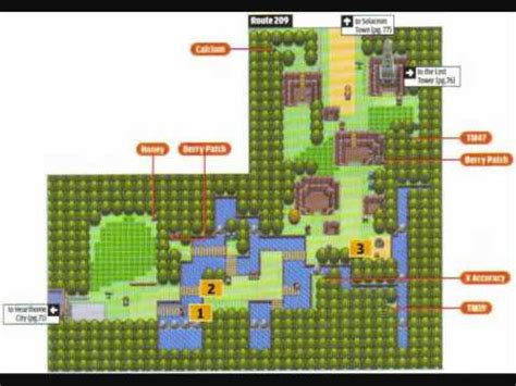 kaos rt209 pokémon pearl platinum route 209 arrangement