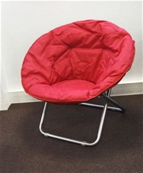 chaise ronde loveuse pliable