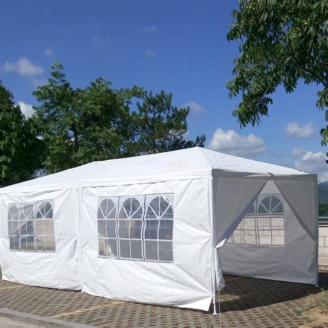 canopies and tarps 10 x 20 white tent canopy gazebo